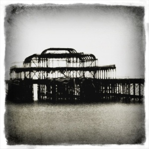West Pier Skeleton, Brighton
