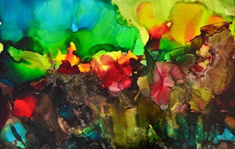 painting by Cheryl Kellar